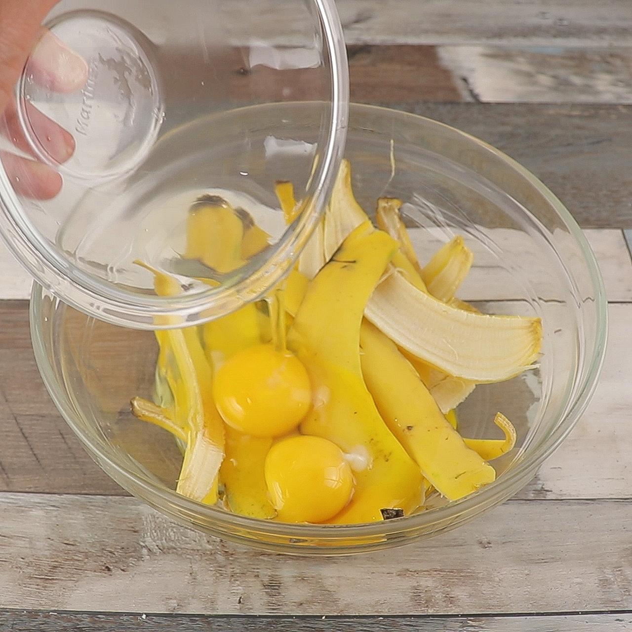 Bolo de Banana Feito com Casca de Banana, Super Delicioso