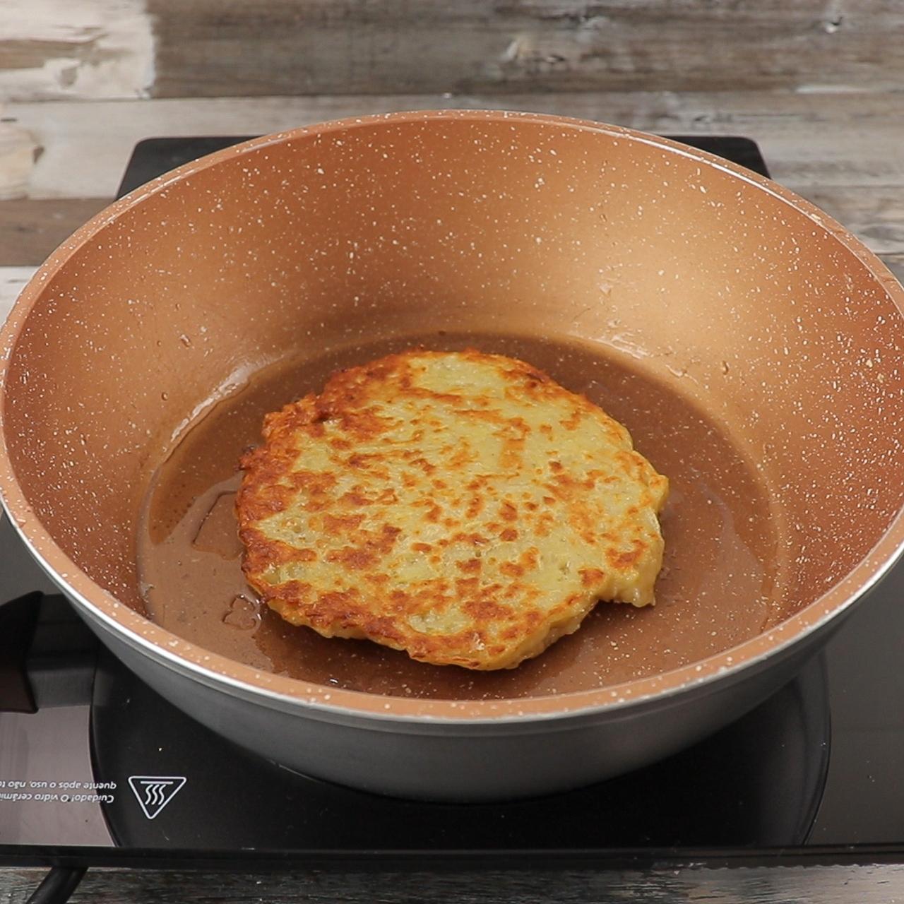 Torta Rápida de Batata na Frigideira, Prática e Deliciosa