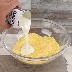 Flocão de Milho Com Creme de Leite, Impecavelmente Saboroso