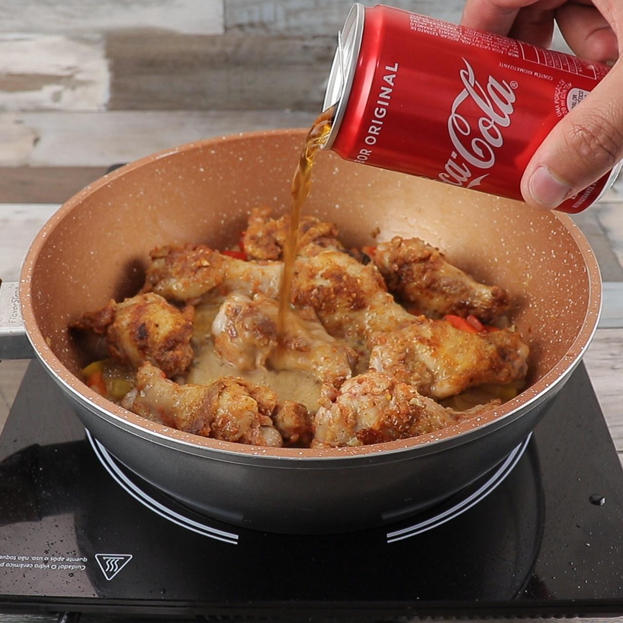Frango Frito com Coca Cola, Super Delicioso