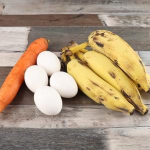 Bolo de Cenoura Com Banana, Sobremesa Maravilhosa