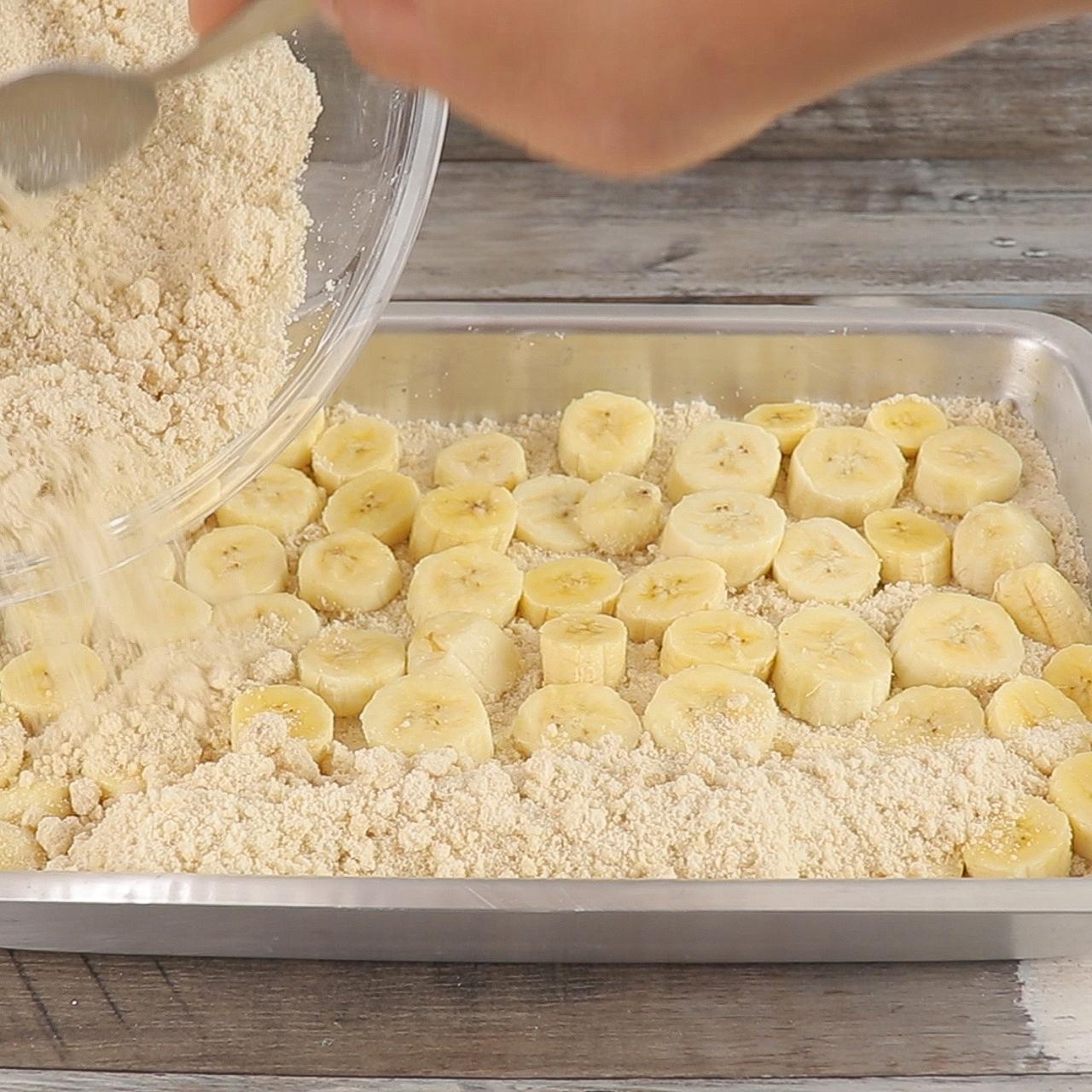 Torta de Banana, Fácil e Deliciosa