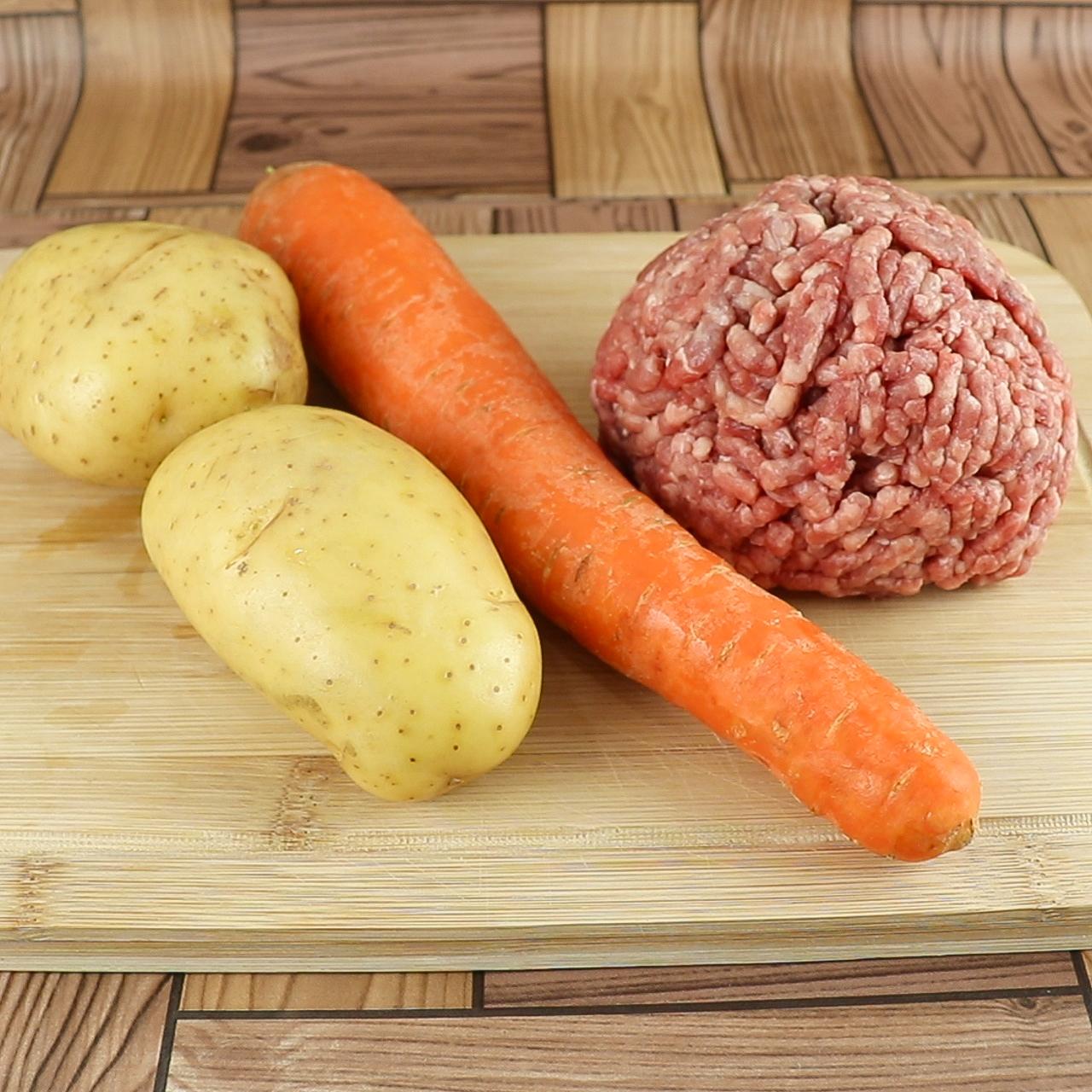 Almôndegas ao Forno Com Batata e Cenoura, Seu Jantar em Poucos Minutos