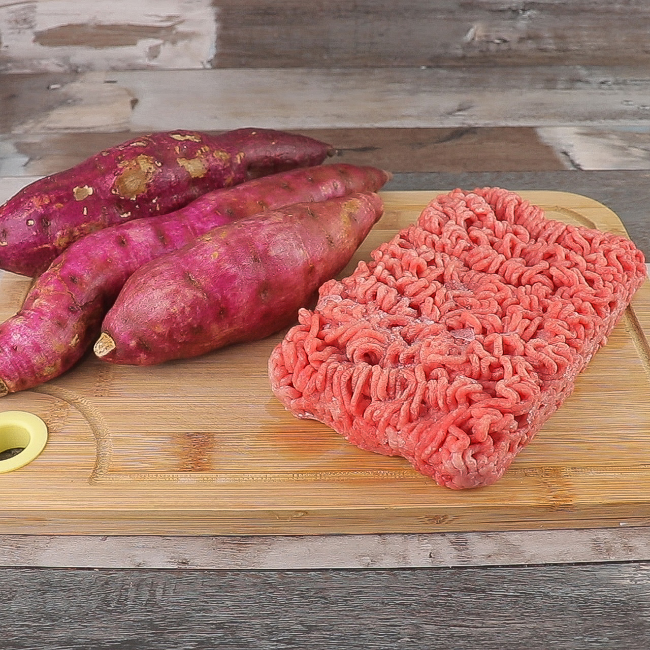 Escondidinho de Batata Doce com Carne Moída