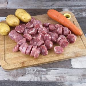 Arroz Com Linguiça, Batata e Cenoura, Simples de Fazer e Delicioso!!