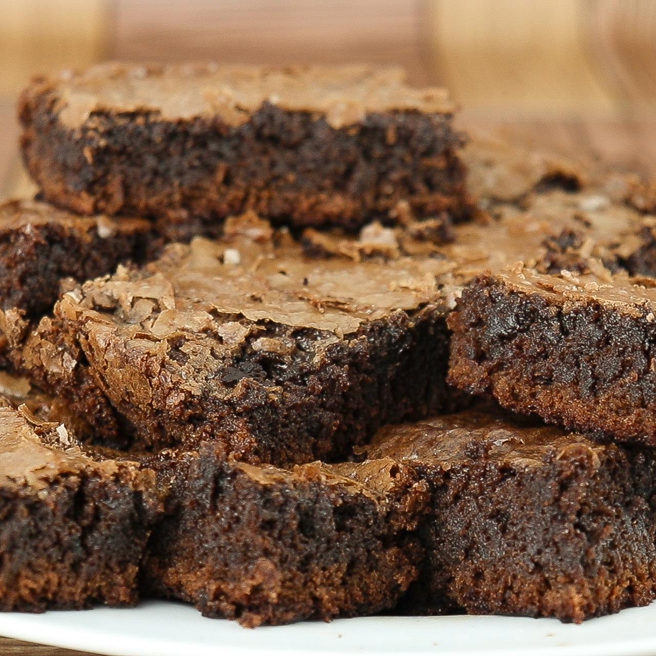 Brownie de Chocolate Super Fácil