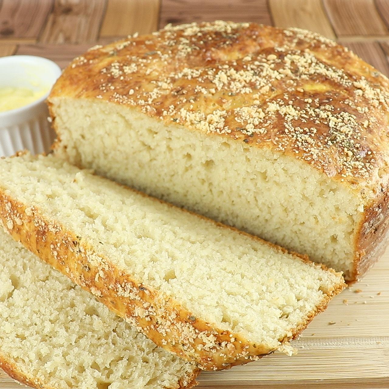 Pão Caseiro de Liquidificador (Sem Sovar)