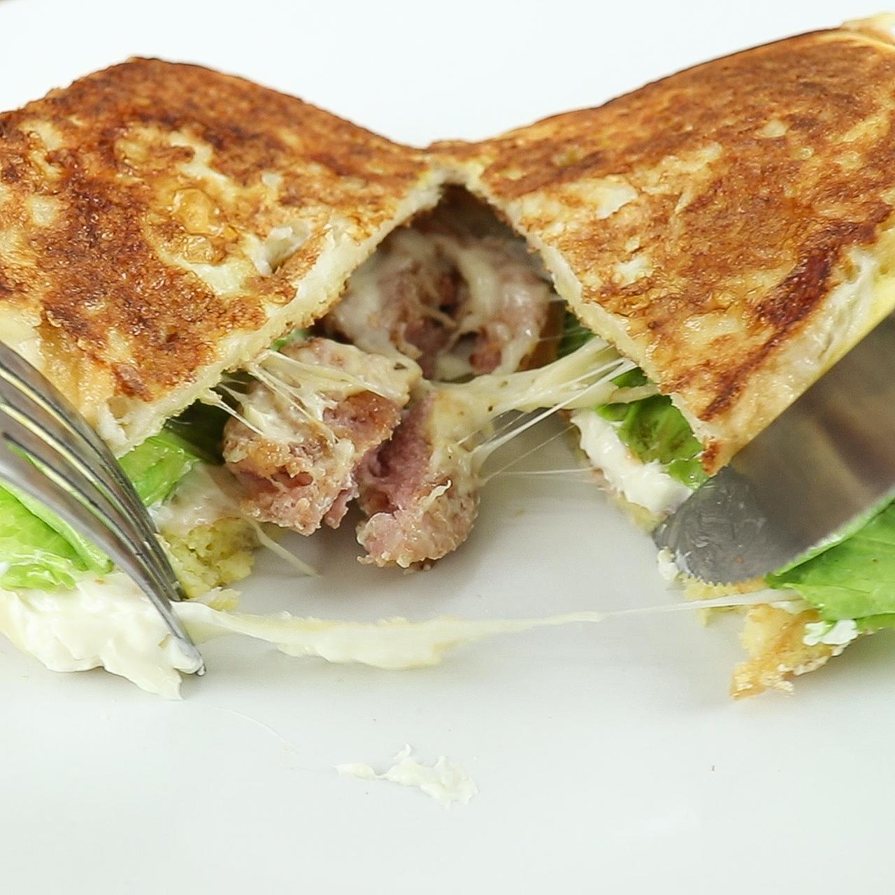 Sanduíche de Frigideira, Incrivelmente Delicioso!!