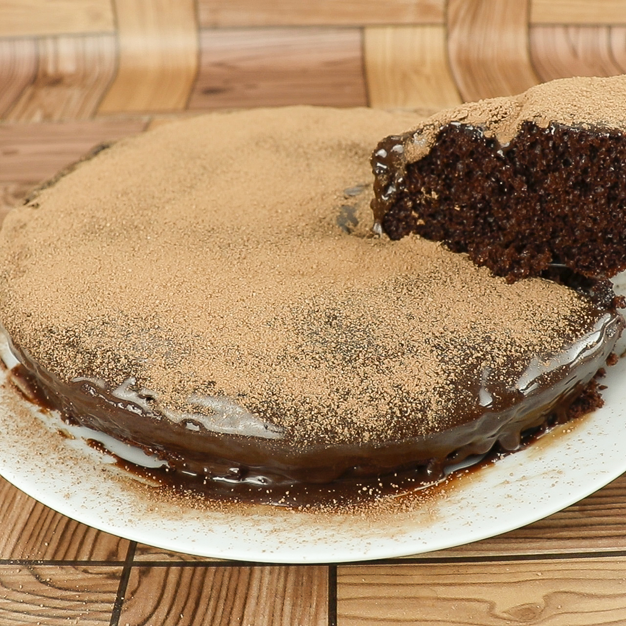 Bolo de Chocolate na Frigideira