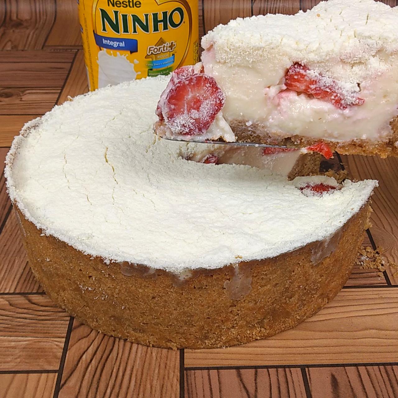 Torta Mousse de Leite Ninho