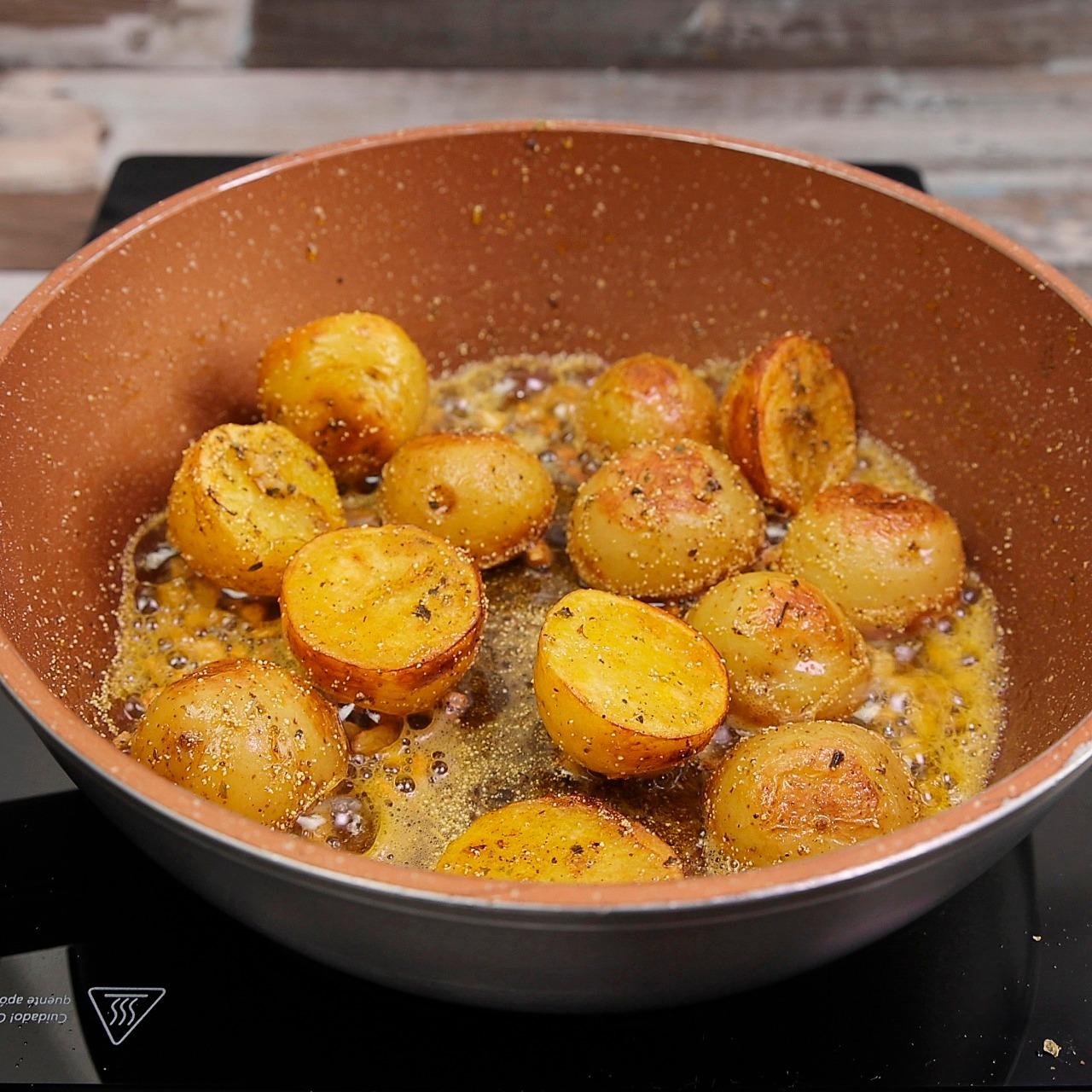 Batata Rústica Fácil de Fazer de Deliciosa!