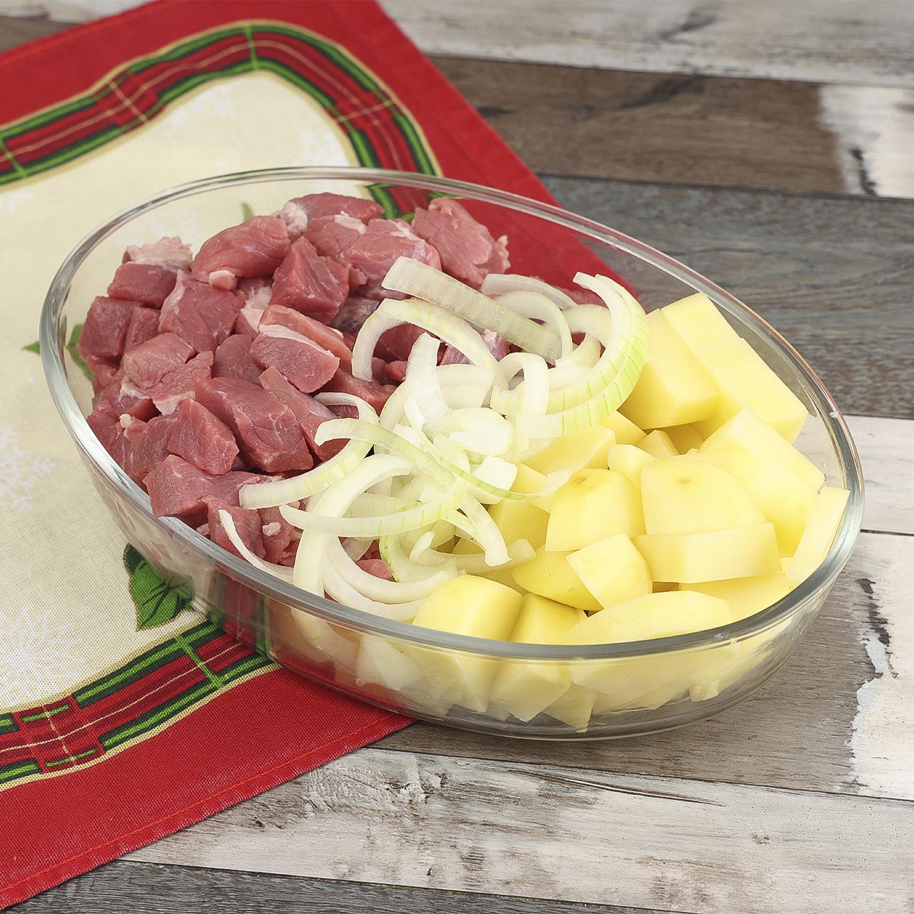Carne com Batatas ao Forno
