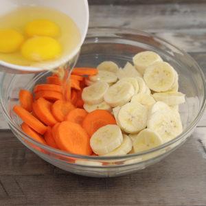 Bolo de Cenoura e Banana, Incrivelmente Delicioso!!
