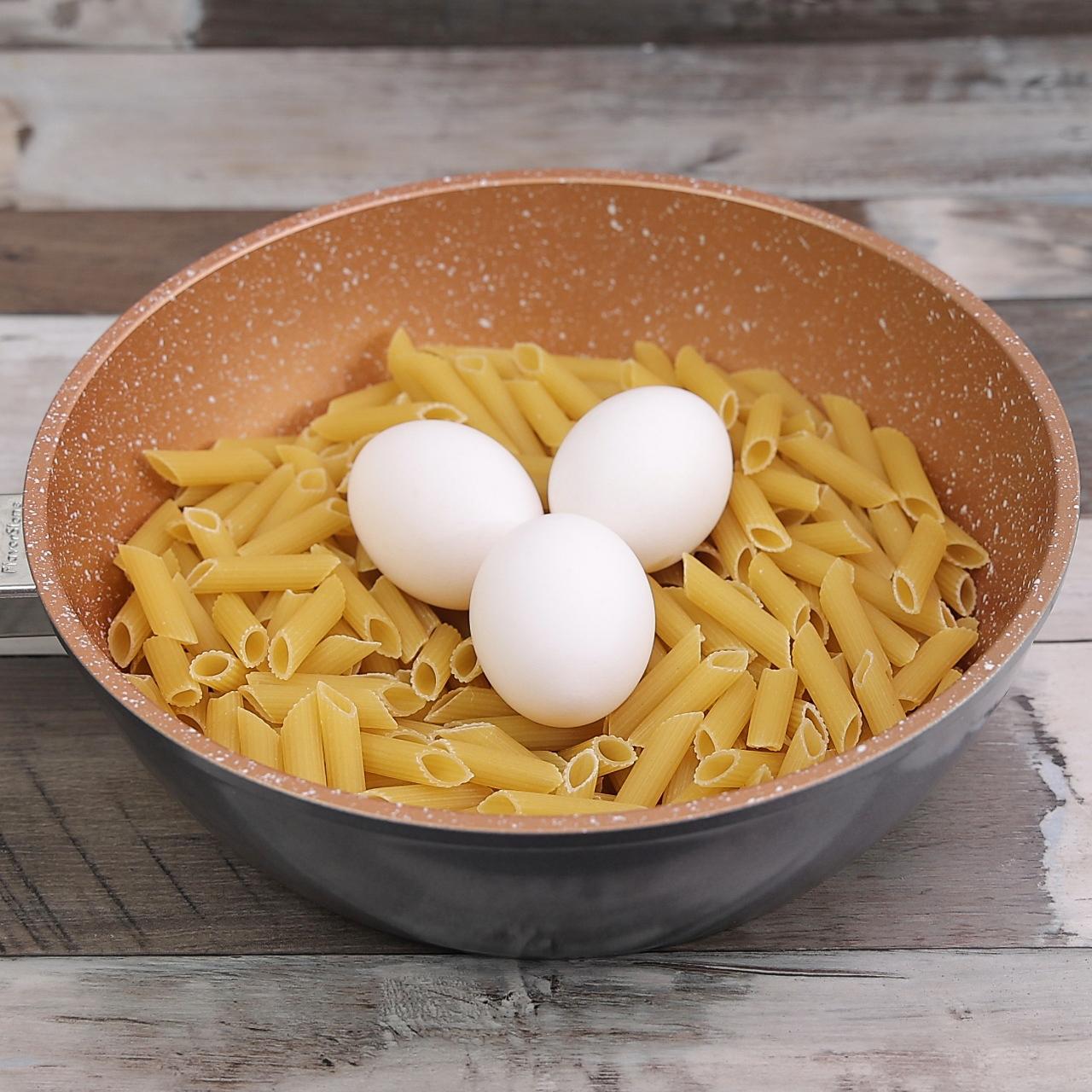Macarrão ao Molho de Ovos